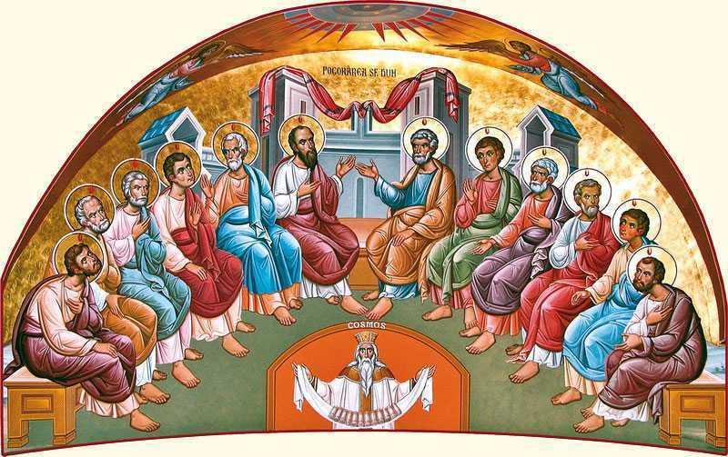 Poem la Cincizecime: DUHUL SFÂNT ZĂMISLEȘTE BISERICA